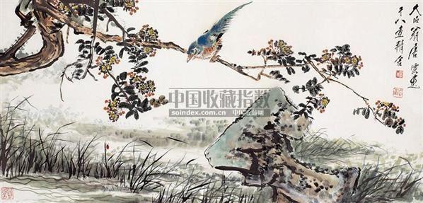 初夏熏风 - 117343 - 西泠印社部分社员作品 - 2006春季大型艺术品拍卖会 -收藏网