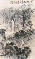 朱恒 龙门飞瀑 立轴 设色纸本 - 朱恒 - 朱恒艺术专题 - 2006年秋季精品拍卖会 -中国收藏网