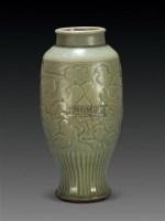 龙泉窑刻花花卉纹瓶 -  - 瓷器古董珍玩   - 2010年秋季艺术品拍卖会 -中国收藏网
