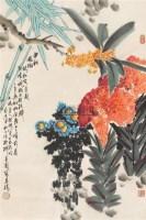中秋风物 镜心 设色纸本 - 140482 - 中国书画(二) - 2006春季拍卖会 -收藏网
