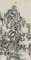 董邦達(1699~1769)林泉幽居圖 -  - 中国书画古代作品专场(清代) - 2008年秋季艺术品拍卖会 -收藏网