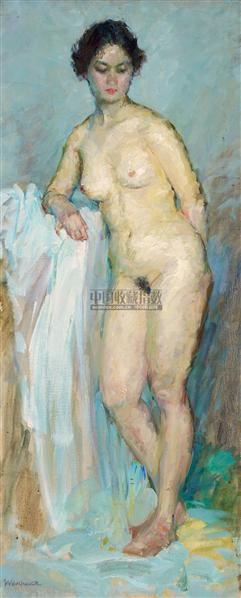 女人体 布面油画 - 141114 - 中国油画  - 2010年秋季艺术品拍卖会 -收藏网
