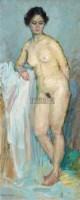 女人体 布面油画 - 徐文华 - 中国油画  - 2010年秋季艺术品拍卖会 -收藏网