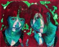 张晨初  美丽上海—她们的眼睛 - 140562 - 名家西画 当代艺术专场 - 2008年秋季艺术品拍卖会 -收藏网