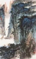 山水 立轴 纸本 - 陈维信 - 中国书画 - 2010秋季艺术品拍卖会 -收藏网