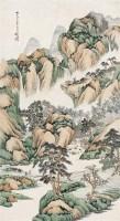 汪洛年(1870~1925)  山高水长图 -  - 中国书画海上画派作品 - 2005年首届大型拍卖会 -收藏网