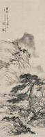 黄君璧   松溪幽胜图 - 122935 - 中国书画近现代名家作品专场 - 2008年秋季艺术品拍卖会 -收藏网