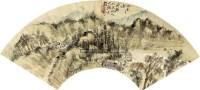 山水 立轴 纸本 - 胡公寿 - 扇面小品 - 2010秋季艺术品拍卖会 -收藏网