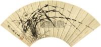 兰草 扇面 纸本 - 陈鸿寿 - 扇面小品 - 2010秋季艺术品拍卖会 -中国收藏网