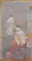 遐思 布面  油画 - 冷宏 - 华人西画 - 2006年度大型经典艺术品拍卖会 -中国收藏网