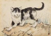 猫 镜心 设色纸本 - 116101 - 中国书画(一) - 2006春季拍卖会 -中国收藏网