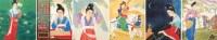 潘絜兹 仕女册页 册页 - 潘絜兹 - 中国书画、油画 - 2006艺术精品拍卖会 -收藏网