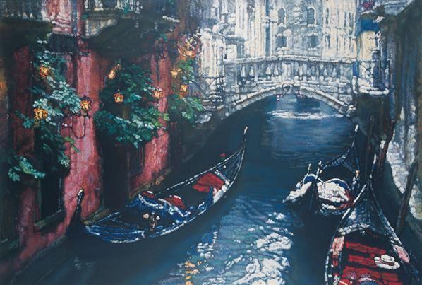 光之桥 版画 - 153322 - 中国油画 - 第54期书画精品拍卖会 -收藏网