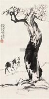 行旅图 立轴 设色纸本 - 赵望云 - 中国书画 - 2010秋季艺术品拍卖会 -收藏网