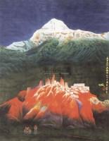 山水 立轴 纸本 - 尼玛泽仁 - 中国书画 - 2010秋季艺术品拍卖会 -收藏网
