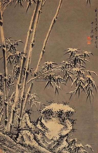 雪竹图 - 5946 - 中国书画古代作品 - 2006春季大型艺术品拍卖会 -收藏网