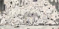 风景 镜心 纸本 - 吴冠中 - 中国书画 - 2010年秋季书画专场拍卖会 -收藏网