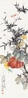 花虫南瓜 立轴 设色纸本 - 王雪涛 - 中国书画专场 - 2010年秋季艺术品拍卖会 -收藏网
