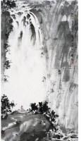 傅抱石(1904~1965)    雲山觀瀑圖 - 傅抱石 - 中国书画近现代十位大师作品 - 2006春季大型艺术品拍卖会 -收藏网