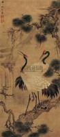 松鹤延年图 - 17310 - 中国书画古代作品 - 2006春季大型艺术品拍卖会 -收藏网