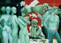 走过都市系列之服装设计师 布面油画 -  - 中国油画  - 2010年秋季艺术品拍卖会 -收藏网
