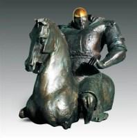 任哲(b.1983)馬上英姿 -  - 首届当代中国雕塑专场 - 2008年春季拍卖会 -中国收藏网
