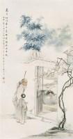 胡郯卿(1865~?)  猛虎图 -  - 中国书画海上画派作品 - 2005年首届大型拍卖会 -中国收藏网