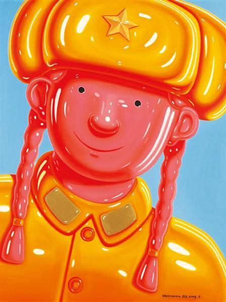女兵 - 150410 - 油画 - 2010年秋季拍卖会 -收藏网