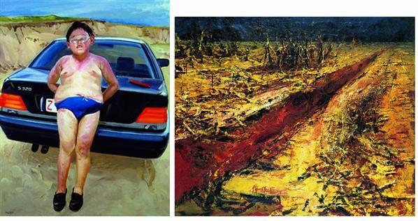 徐晓燕  大地的肌肤系列 · 之一 - 137440 - 名家西画 当代艺术专场 - 2008年秋季艺术品拍卖会 -收藏网