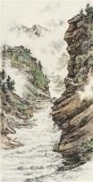 漓江雨后 立轴 设色纸本 - 陶一清 - 中国书画 - 2010年秋季拍卖会 -中国收藏网