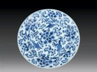清·康熙 青花花卉盘 -  - 瓷玉珍玩 - 2006艺术精品拍卖会 -收藏网