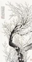 梅花 立轴 纸本水墨 - 陶冷月 - 中国当代书画 - 2010秋季艺术品拍卖会 -中国收藏网