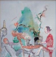 任小林 2003年作 西湖系列 - 任小林 - 当代艺术·卓克收藏专场 - 2006夏季大型艺术品拍卖会 -收藏网