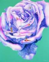 曾令馨  花 -  - 名家西画 当代艺术专场 - 2008年秋季艺术品拍卖会 -收藏网