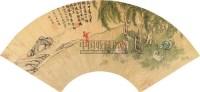 扇面 镜心 纸本设色 -  - 中国古代书画  - 2010秋季艺术品拍卖会 -收藏网