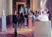 冷 军   博物馆之三 -  - 名家西画 当代艺术专场 - 2008年秋季艺术品拍卖会 -收藏网