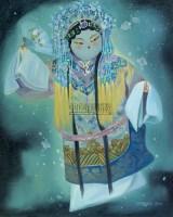 蝶恋花 布面油画 - 孟燕 - 中国油画  - 2010年秋季艺术品拍卖会 -收藏网
