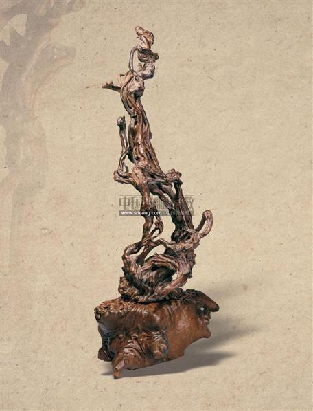 灵空奇幻 -  - 文房清玩 首届历代供石专场 - 2008年秋季艺术品拍卖会 -收藏网