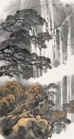气激风云   镜框 设色纸本 - 20759 - 中国书画 - 2010秋季艺术品拍卖会 -收藏网