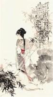 韩敏 人物 - 136839 - 中国书画  - 上海青莲阁第一百四十五届书画专场拍卖会 -收藏网