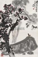 牧驴图 立轴 设色纸本 - 徐庶之 - 中国书画 - 2010秋季艺术品拍卖会 -收藏网