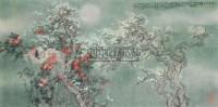 江南三月 镜心 设色纸本 - 6234 - 中国书画夜场 - 2010秋季艺术品拍卖会 -收藏网