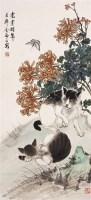 金梦石(1869~?)  耄耋颐年图 -  - 中国书画近现代名家作品 - 2005年首届大型拍卖会 -收藏网