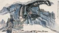 乐其自然 镜片 设色纸本 - 徐庶之 - 中国书画 - 2010秋季艺术品拍卖会 -收藏网