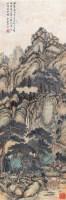 山水 立轴 设色纸本 - 溥伒 - 中国书画 - 第9期中国艺术品拍卖会 -中国收藏网