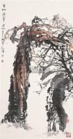 古树新翠 立轴 设色纸本 - 白庚延 - 中国书画 - 2006秋季书画艺术品拍卖会 -收藏网