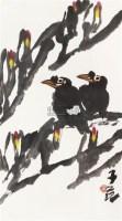 花鸟 立轴 纸本 - 崔子范 - 中国书画 - 2010秋季艺术品拍卖会 -收藏网