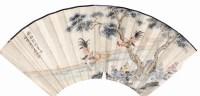 健叟 双鸡图 -  - 中国书画  - 上海青莲阁第一百四十五届书画专场拍卖会 -收藏网