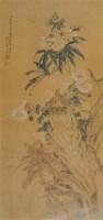 花鸟 镜心 设色绢本 - 蒋廷锡 - 中国书画(一) - 2006春季拍卖会 -收藏网