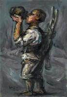 饮 - 罗中立 - 油画 - 2010年秋季拍卖会 -收藏网